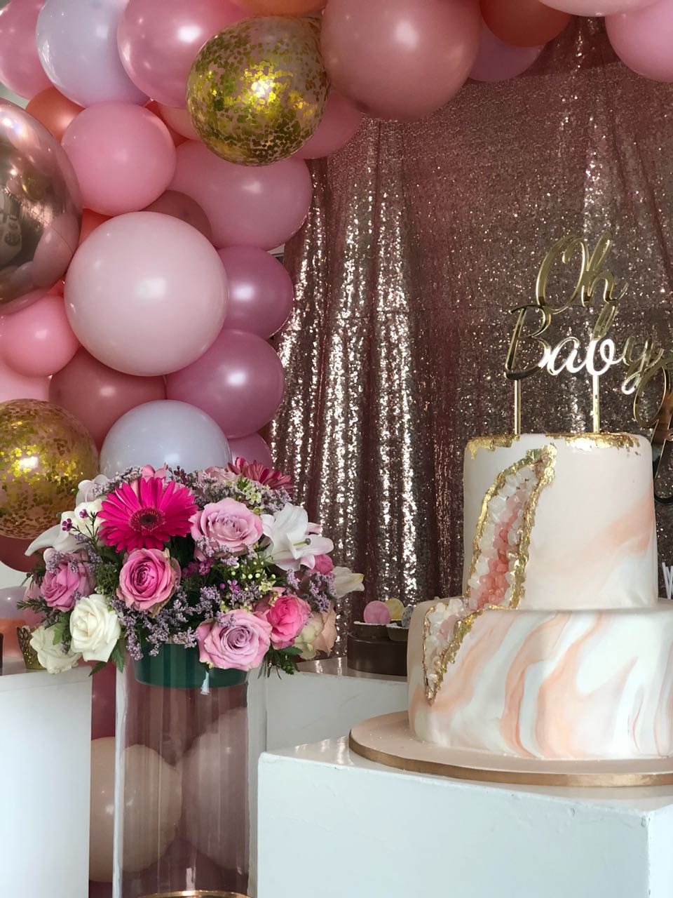 Baby Showers are fun and full of excitement. Impress your guests. This image was taken in Johannesburg South Africa