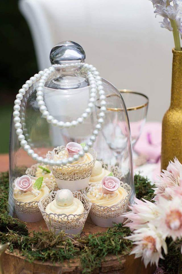Special occasion cupcakes can make a wedding cake stand look so beautiful. This wedding was in Johannesburg South Africa